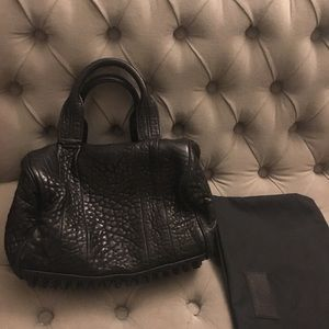 Authentic Alexander Wang Lambskin Leather Bag